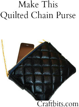 Bag Pattern: Quilted Chain Purse