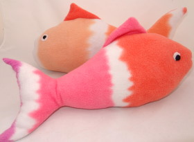 fish - plushie toy