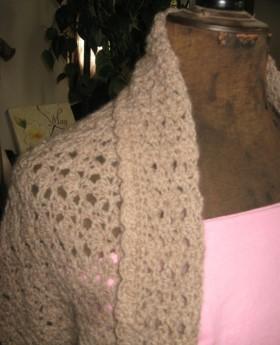 Lacey Bolero Crochet Pattern