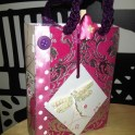 Gift Bag From Recycled Greeting Cards