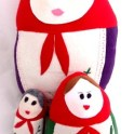 Plushie - Russian Matryoshka Doll Cushion