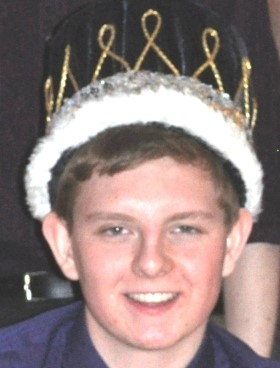 DIY prom king crown