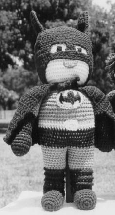 Crochet Batman Doll