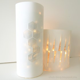Recycled Bottle – Party Lantern