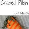 Pillow Shaped Like Easter Carrot