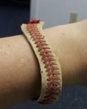 Handmade Baseball Bracelet