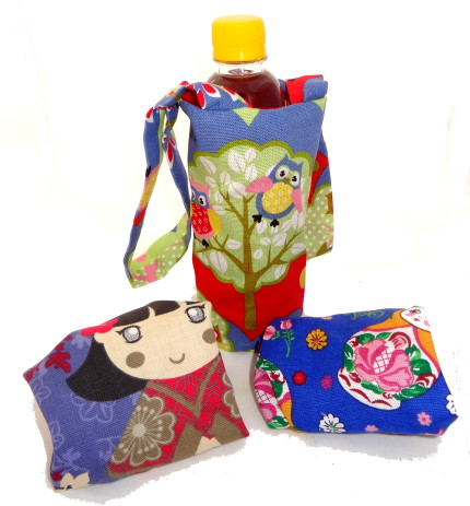 Win 1 of 3 Handmade Water Bottle Carriers