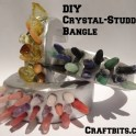 DIY Crystal-Studded Bangle