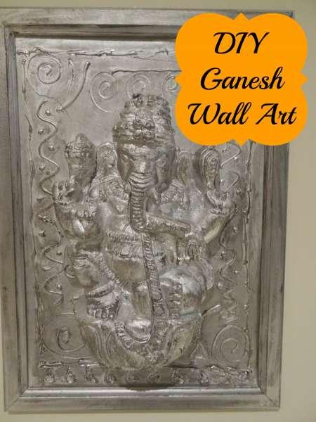 Diwali Ganesha Wall Art