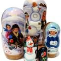 Win a set of Children Russian Nesting Doll