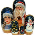 Win a set of Merry Christmas Nesting Dolls
