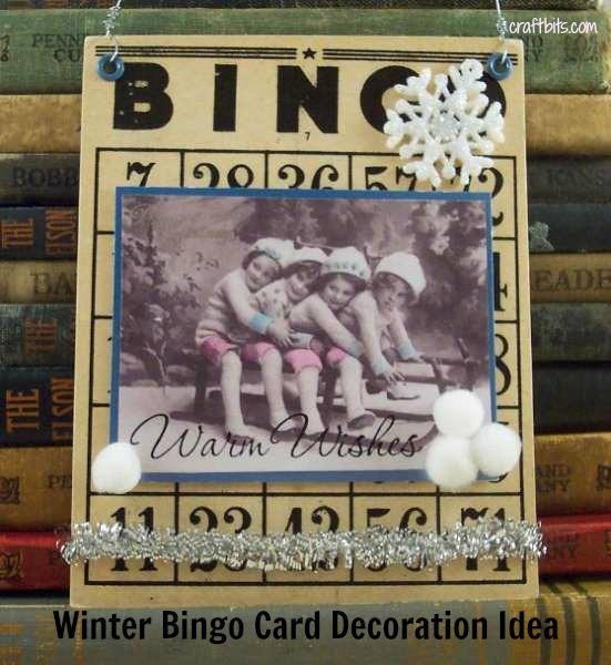 Winter Bingo Card Collage