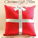 Christmas Gift Pillow - Easy Sewing Project