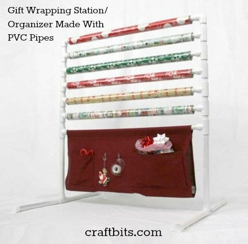 DIY Gift Wrapping Organizer/ Station