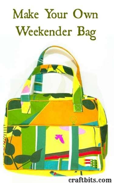 sew weekender bag