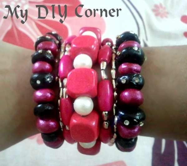 DIY M seal Beaded Bracelets