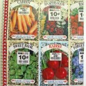 Seed Packet Garden Journal
