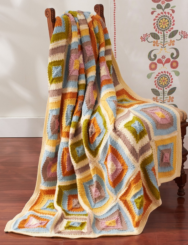 Gorgeous Patchwork Blanket
