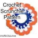 Patriotic Scrunchie Crochet Pattern