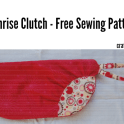 Free Sewing Pattern: An elegant clutch