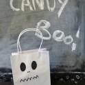 Halloween Treat Bags -  Sharpie Ghosts