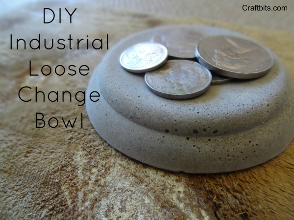 Industrial Loose Change Bowl