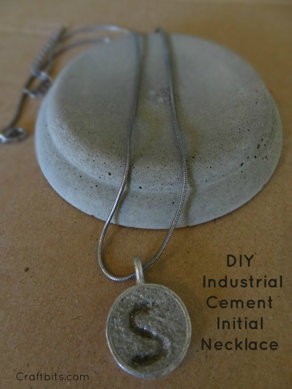 Cement Initial Industrial Style Pendant