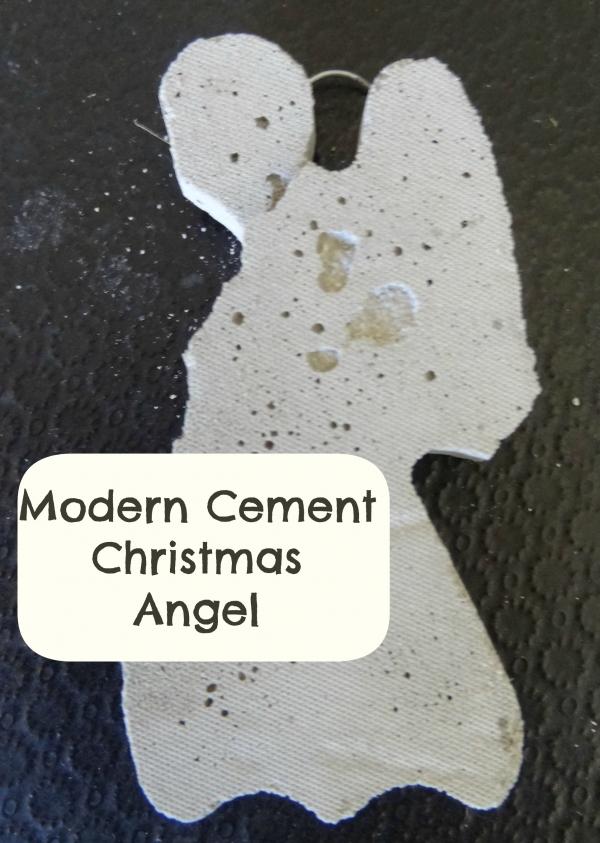 Tree Decoration – Cement Angel