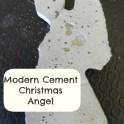 Tree Decoration - Cement Angel