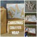 Graffiti Christmas Wrap Ideas