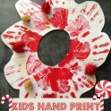 Hand Print Christmas Wreath
