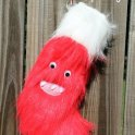 Furry Monster Stocking: Christmas DIY