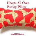 Hearts all Over Pillow