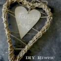 Wreath - Valentine's Day Rustic Love