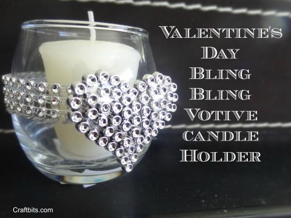 Valentine's Bling Votive