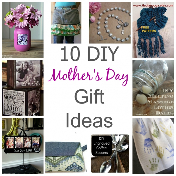 10 DIY Mother's Day Gift Ideas - CraftBits 2017-04-19 13:07