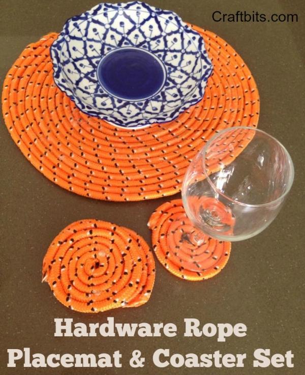 Rope Placemat & Coaster Set