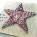 Make A 4th of July Star String Art