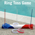 DIY Ring Toss Game - 4th of July Party Game