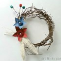 Make A Rustic 4th Of July Wreath