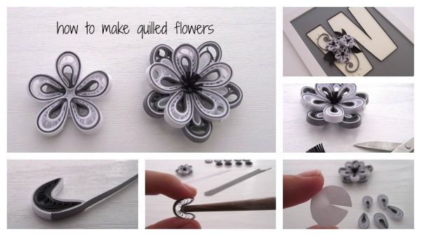 How To Make Quilled Flowers