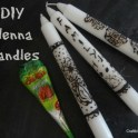 Henna Bohemian Candles