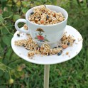 DIY Tea Cup Bird Feeders