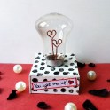Heart Light Bulb for Valentine's Day!