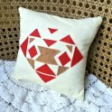 Learn to Applique: Heart Valentine Pillow