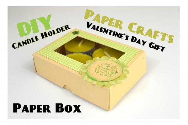 DIY Candle Gift Box