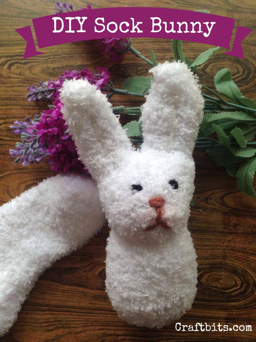 Hello Mr. Easter Sock Bunny!