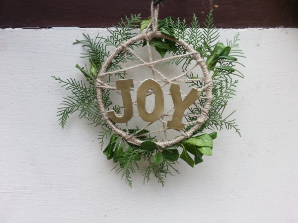 Christmas Wreath – Joy To Nature