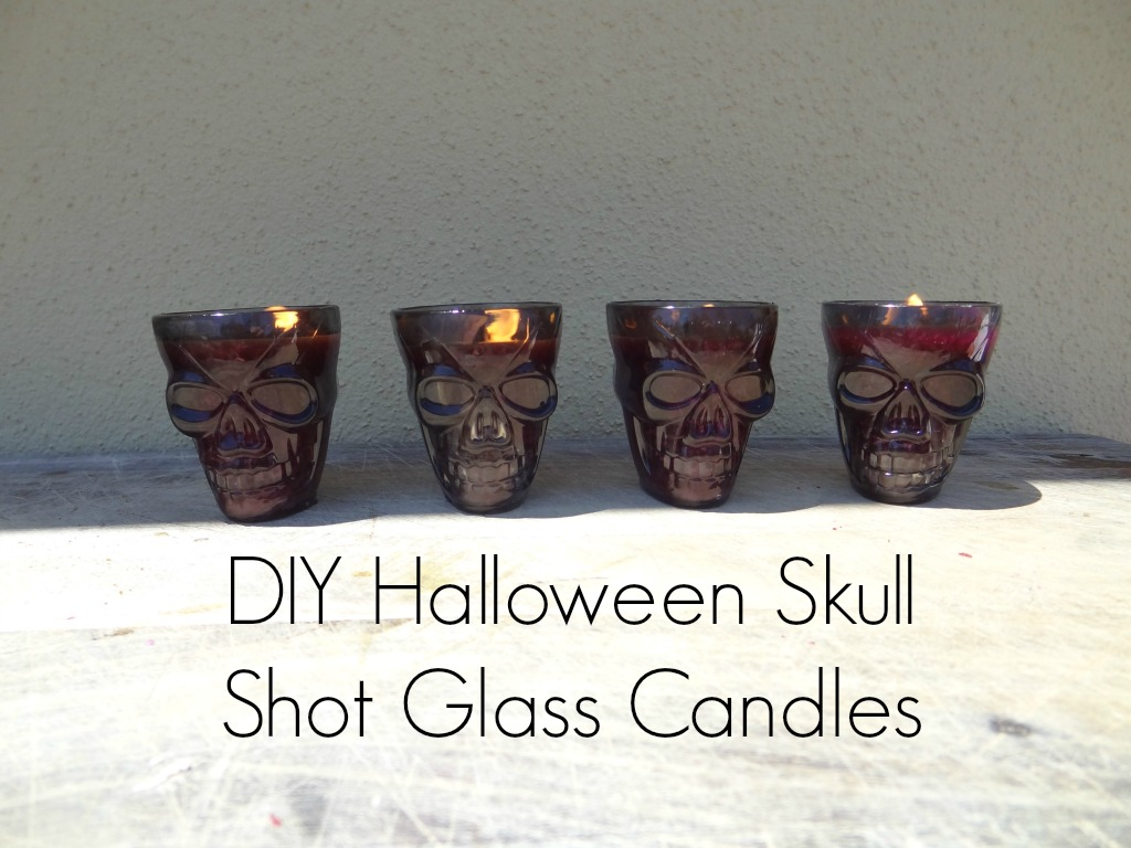 Halloween Skull Tea-light Candles