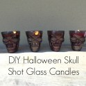 Halloween Skull Tea-light Candles